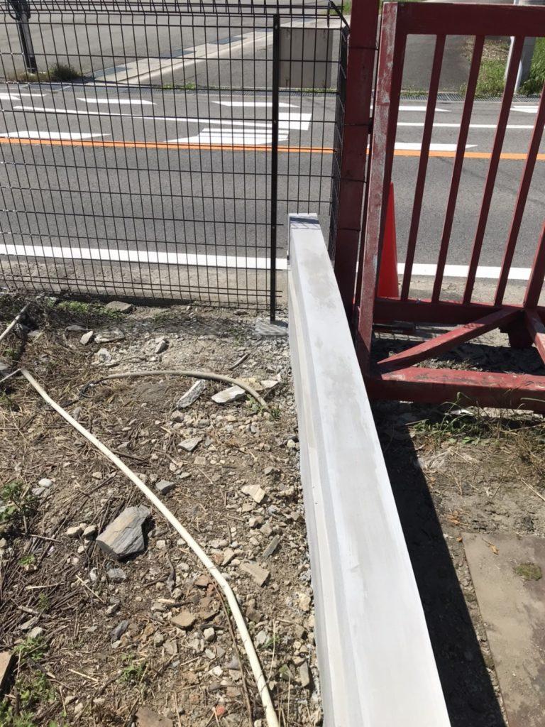 フェンス補修